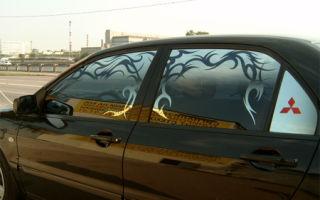 Какая тонировка разрешена для передних стекол и не только?