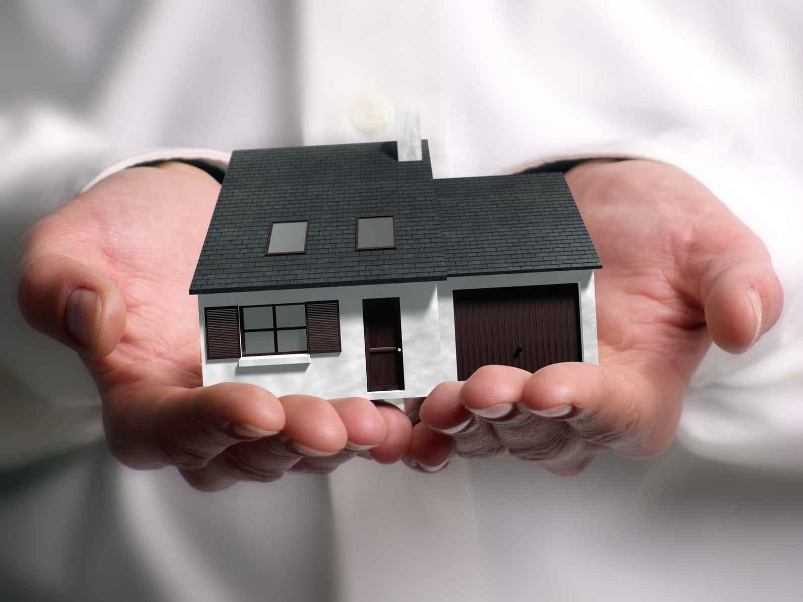 Если во получить дом в наследство резко поднял