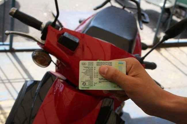 Какие права нужны на скутер порядок получения прав