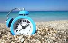 Часы на пляже