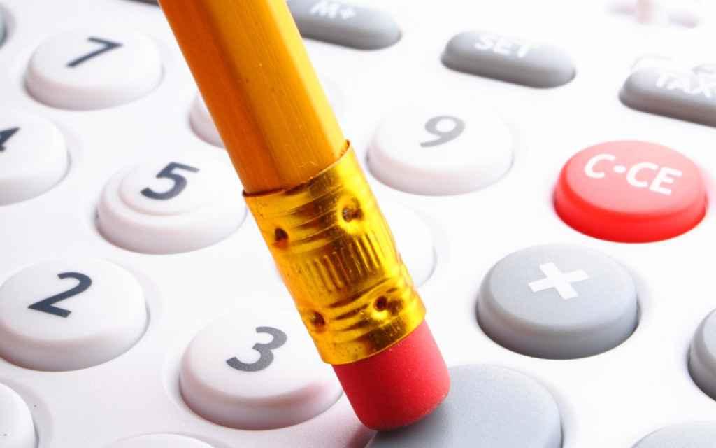 Карандаш и калькулятор
