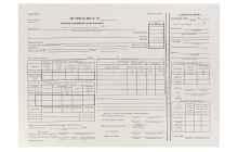 Образец заполнения путевого листа легкового автомобиля и его предназначение