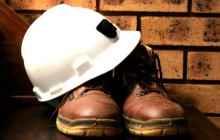 Обувь и каска