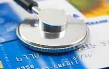 Медицинские принадлежности и карточка