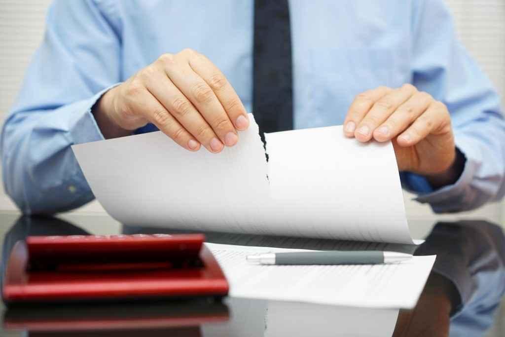 Как расторгнуть договор в одностороннем порядке процедура расторжения