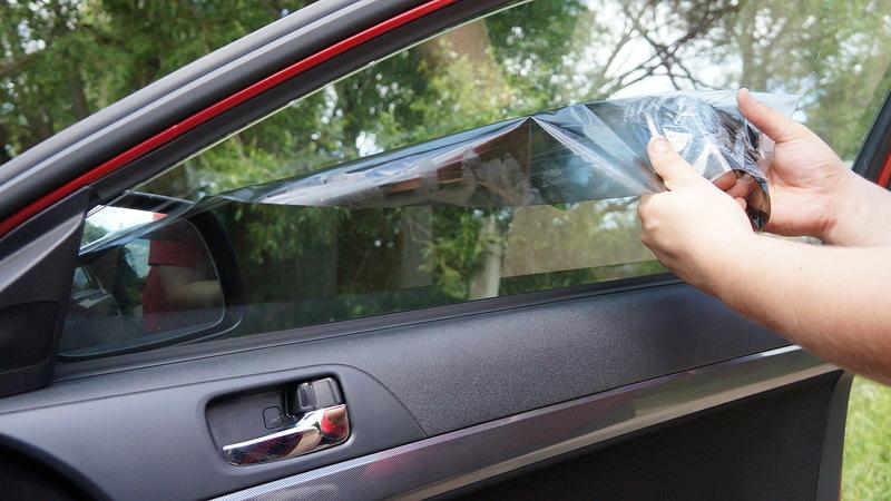 снятие тонировки автомобиля