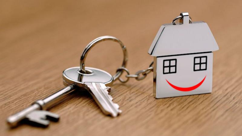 Ключи и брелок-домик