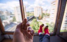 Курение на балконе - можно ли?